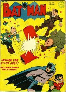 Batman também foi a guerra!