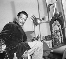 Dalí trabalhando em Destino