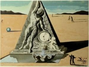 Estudo de Dalí para Destino