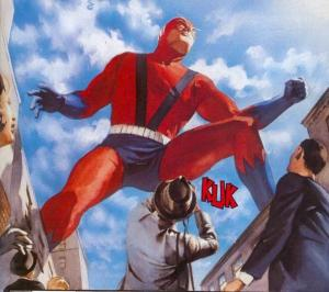 É do Alex Ross, tinha que estar na lista