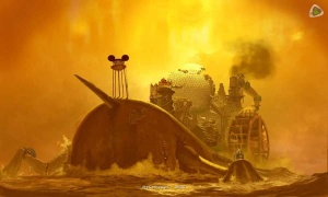 Arte conceitual de Epic Mickey