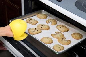Pacman em forma de biscoito