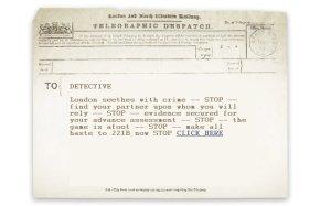 O telegrama